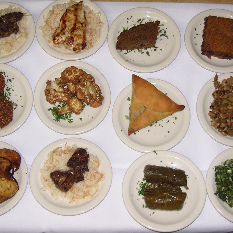 Lebanese Traditional Meza