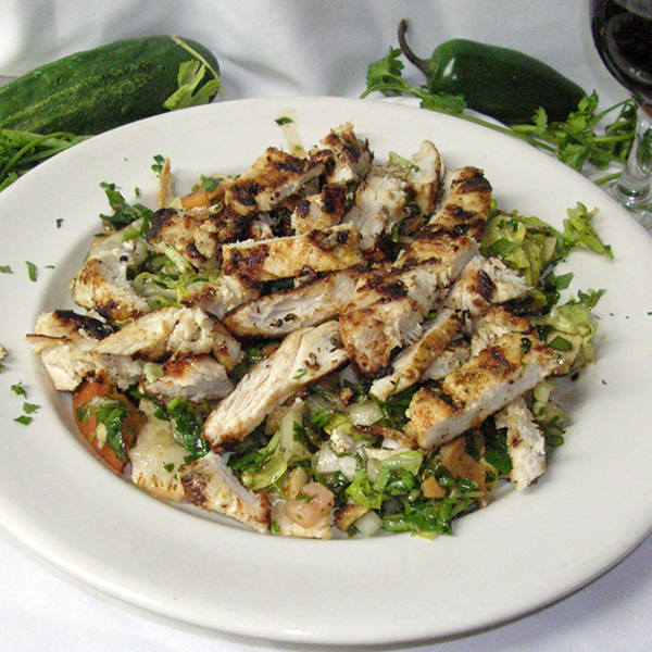 Grilled Chicken Fatoush