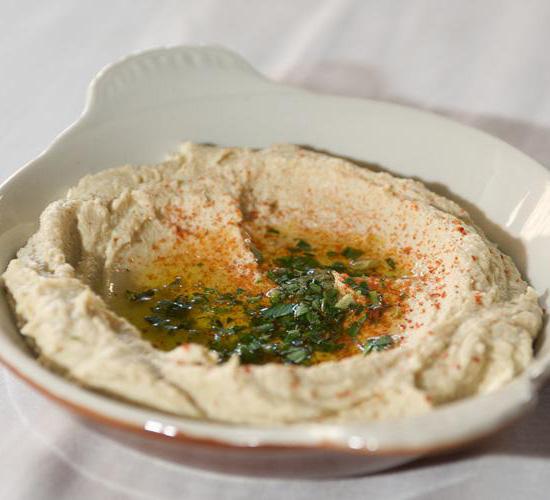 Hummus B'tahini